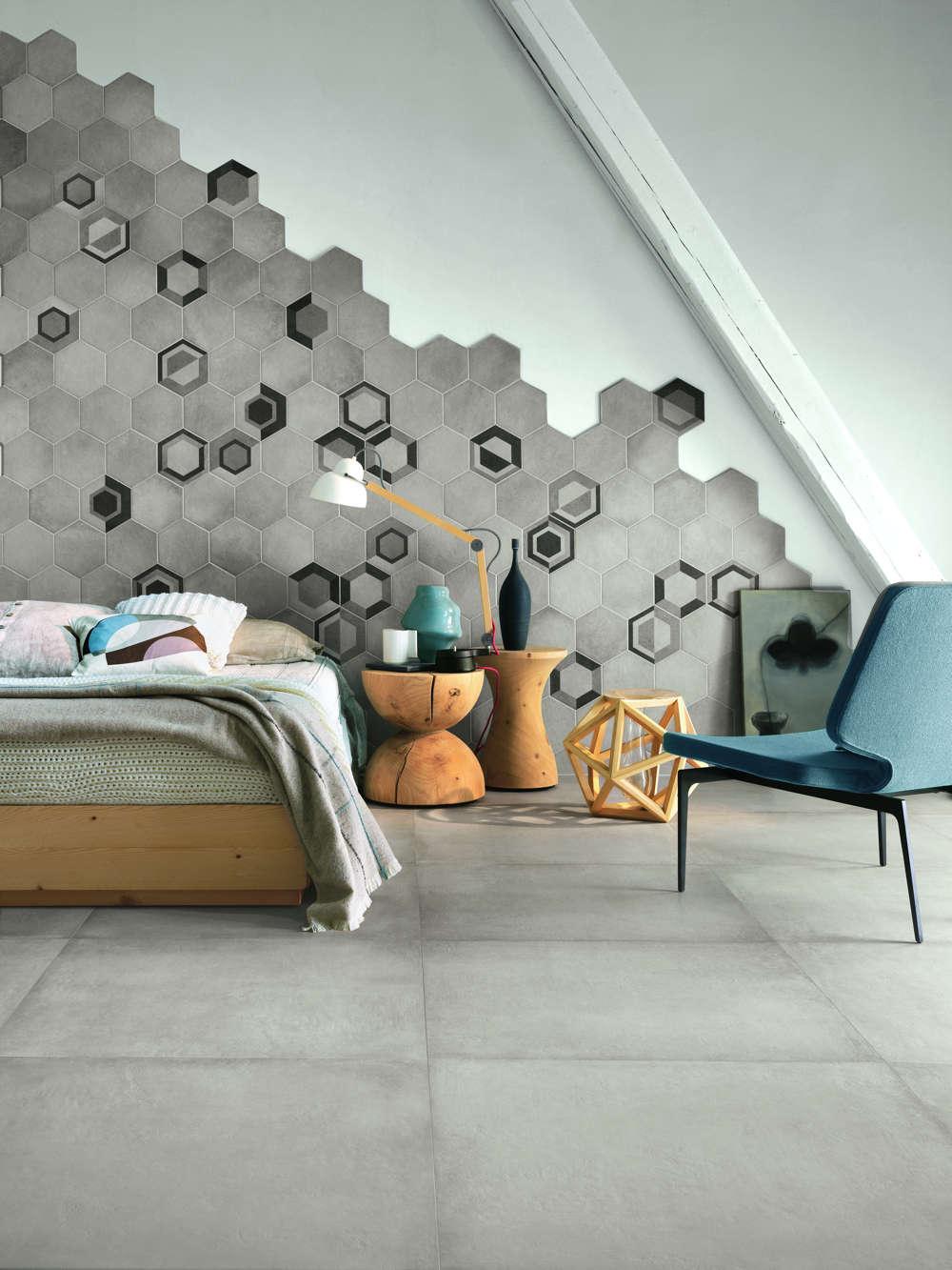 Leicester Wall Tiles Rewind Hexagon