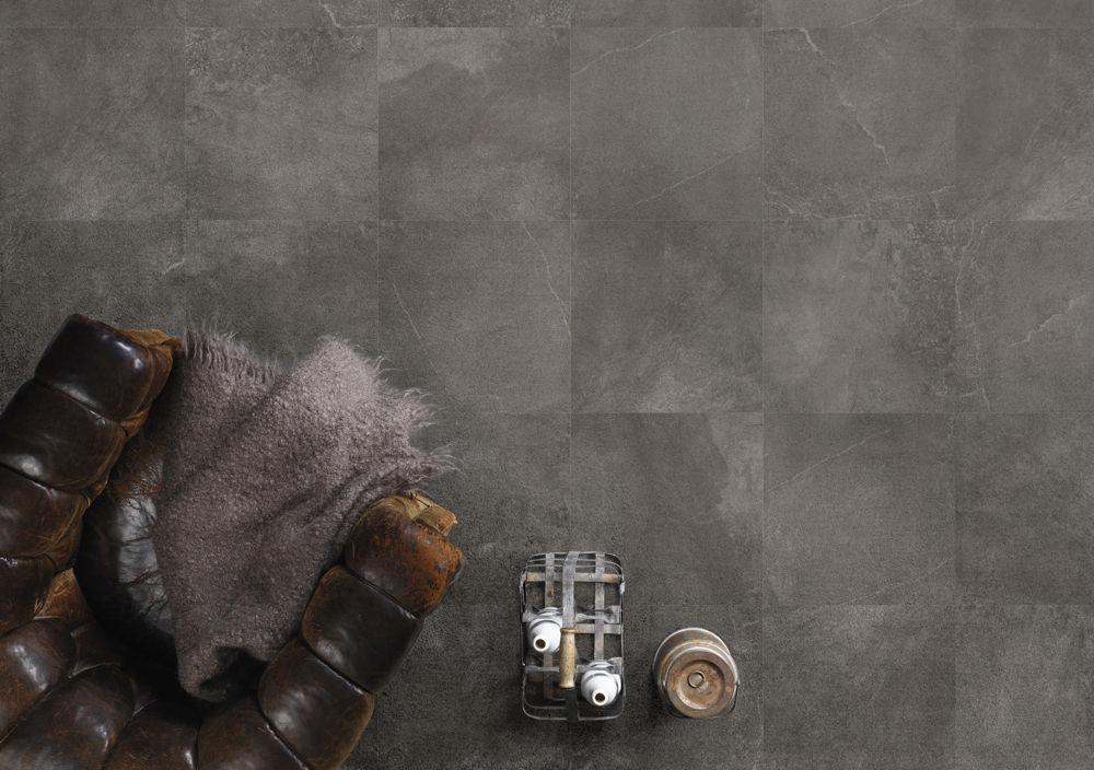 Leicester floor tiles Always Grafito